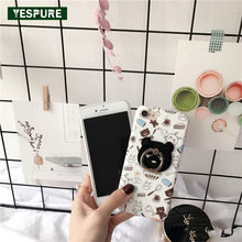 YESPURE 4.7 Inch Cheap Cute Cell Phone Cases for Iphone 6 6s Silicone Handphone Accessories 360 Protective Ring Back Covers