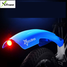 X-Front brand MTB Mudguard Bike Front Rear Quick Release Bike Fender Bicycle Fender Wing Stand Rack Mudguard Warn Taillight