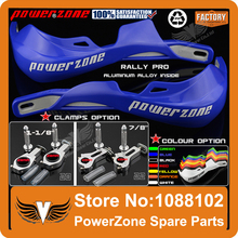 "Rally Pro Motorcycle Motorcross Dirt Bike Handlebar  Handguards Protector YZ YZF WR 125 250 450 7/8"" 22mm Or 1-1/8 28mm Fat Bar"