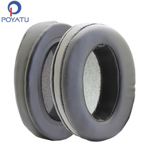 POYATU Sponge Leather Earpads For Sennheiser HD650 Earpads For Sennheiser HD600 Ear Pads For Headphones Earphone Accessories(China)