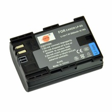 DSTE 10x LP-E6 Full Decode Battery for Canon EOS 5DS 5D Mark II 5D Mark III 6D 7D 60D 60Da 70D 80D DSLR EOS 5DSR Camera