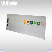 500cm Straight Tension Fabric Media Backdrop Advertising Display Banner Stand With Single Side Printing,Portable Exhibition Wall