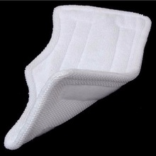 1 PC 28x16cm Replacement Pads For Shark Steam Mop Microfiber Machine Washable Cloths White Color