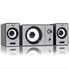 2017 New SADA S-20D laptop computer audio speakers, AUX input multimedia mini portable small 2.1 subwoofer, USB powered