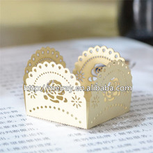 big rose beautiful design delicate wedding party decoration laser cut hollow mini sweet wrappers candy wrappers