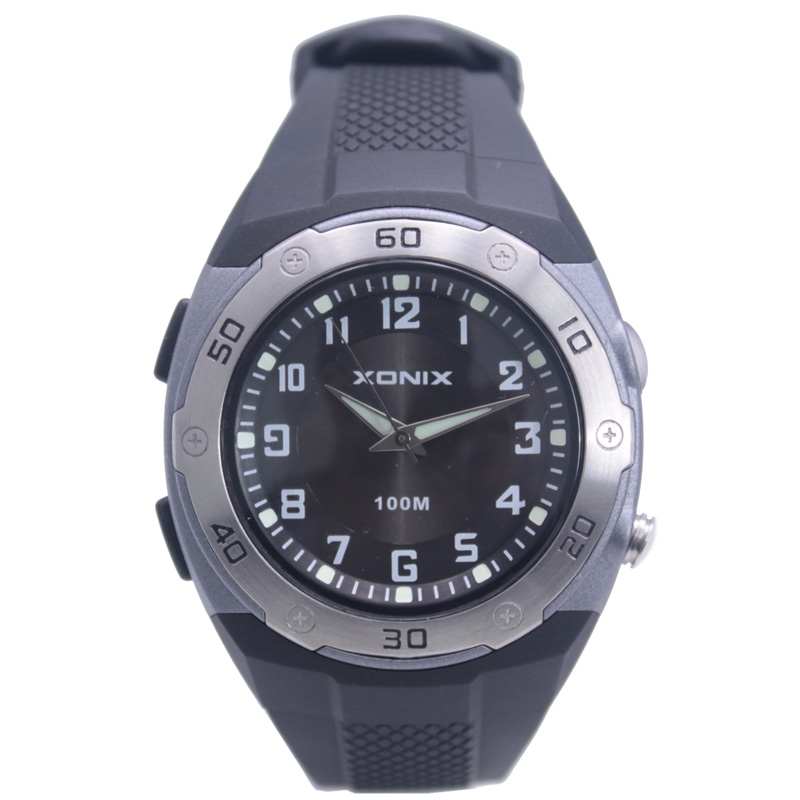 XONIX Brands  Men Sports Watch With LEDFlash Beam Waterproof 100 M Man Casual Fahion Swimming Diving Outdoor<br><br>Aliexpress