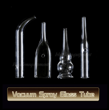 1 Set of Small Ventouse Glass Tube Replace Attachment For Vacuum Spray Beauty