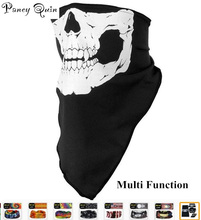 Halloween Skull Skeleton Party magic scarf  Multi Function Bandana Face Mask Neck Headwear Hat Scarf Neck Scary wholesale