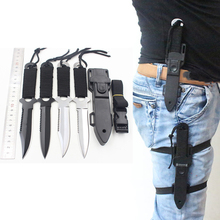 Stainless Steel Survival Knife Fixed Blade Tactical Knife EDC Diving Camping Hunting Knife Canivetes Navajas(China)
