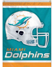 6 Color Miami Dolphins Helmet Team American Outdoor Indoor Football College House Flag 3X5 Custom Any Flag