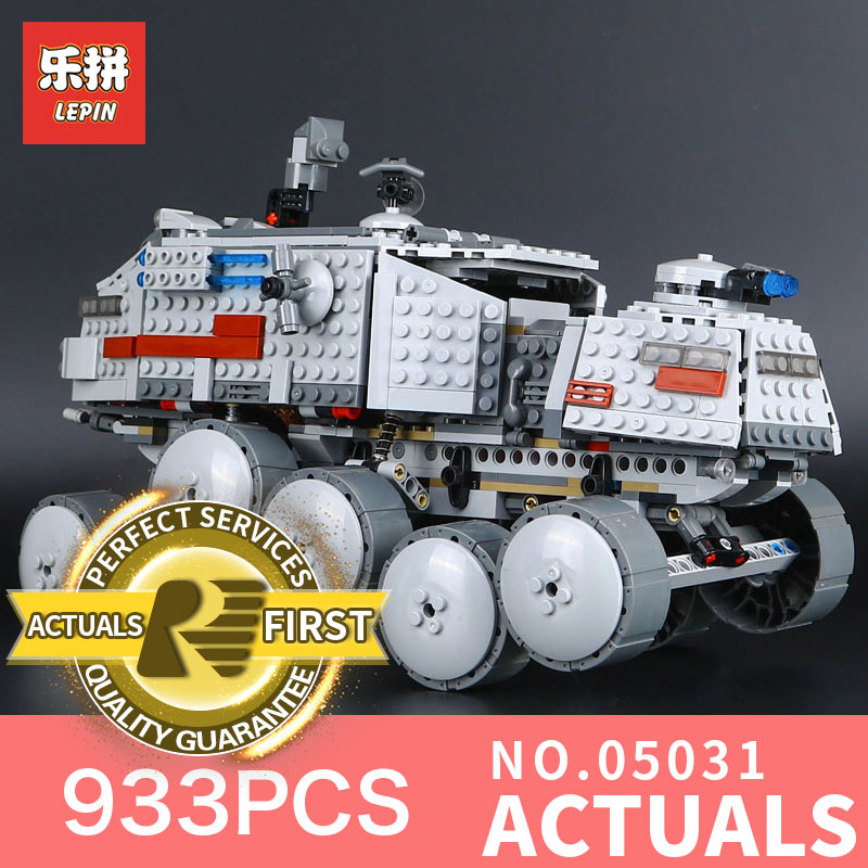 Star 933Pcs Lepin 05031 Wars Clone Turbo Tank  Builing Blocks Bricks Compatible Toy Children Toys Gift model LegoINGlys 75151<br>