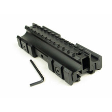 Triple Side Flat Top 11mm/20mm Weaver/Picatinny Rail Carry Handle Mount Fit .223 Rifles for 20mm Rail(China)