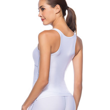 Buy New Summer Sexy Women Tank Tops Quick Dry Tight Fitness Sleeveless O collar white Vest Singlet Exercise Workout Tank Tops for $6.31 in AliExpress store