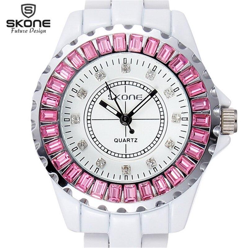 SKONE Women Watches Women Top Famous Brand Luxury Casual Quartz Watch Female Lady Watch Women Wristwatches Relogio Feminino 2017<br>