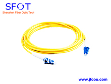Fiber Optic Jumper cable ,LC/PC-LC/PC,SM,3.0mm,3M,Simplex with LC Optical Connector, High Return Loss