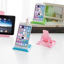 Simple Mobile Phone Tablet Dedicated Stand Holders Portable Foldable Lazy Supplies Adjustable Home Desktop Stand Holder