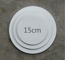 15cm MDF Round stretched canvas for wholesale