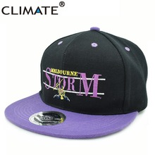 CLIMATE Australia Rugby Football Fans Melbourne Brisbane team adjustable baseball sport Snapback caps hats For Adult Men Women