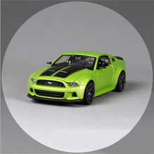 1:24 Scale kids brand maisto 2014 mustang street racer metal diecast vehicle collectible gift model sport cars children boy toys
