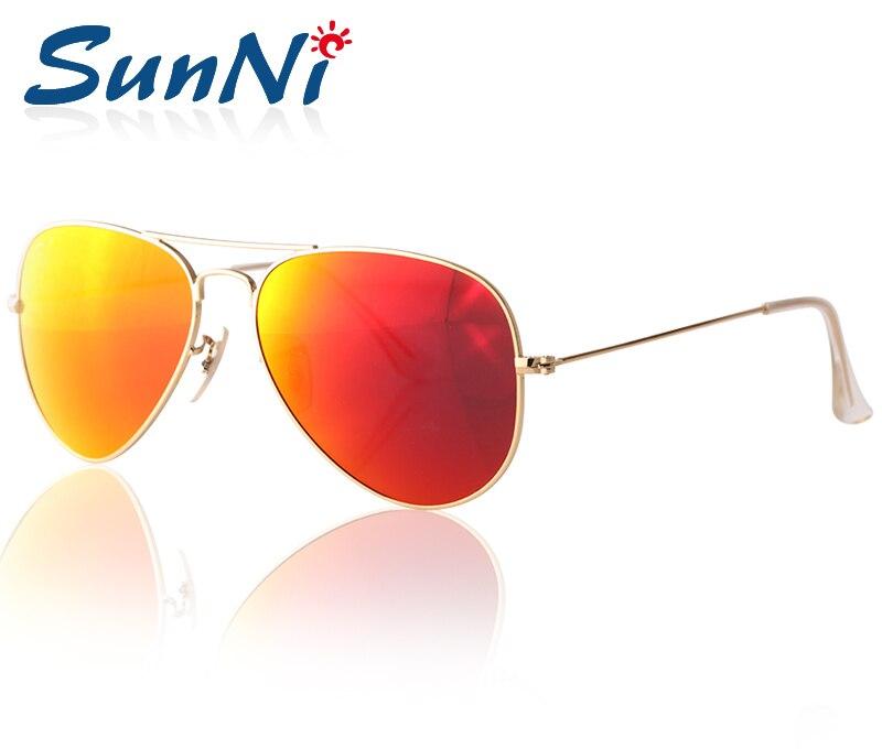 Hot Selling Best Quality Fashion Sunglasses Mens/Womens Designer Sun Glasses Gold Frame Brazil Red Lens UV400 58mm Box<br><br>Aliexpress