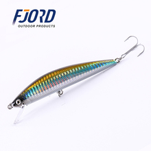 2017 Hot Sale 5colour 125mm 40g Minnow Laser Hard Professional SwimBait Artificial Bait Equipped VMC Hooks Sinking Fishing Lure