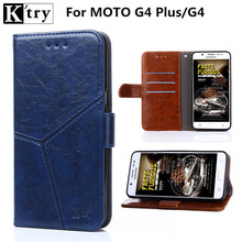 PU Leather Flip Wallet Case for Motorola G4 Plus G4 Case with Soft Silicone Case Cover for Moto G4 Plus G4 Phone Fundas(China)