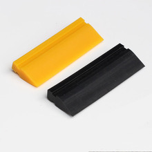TPU PPF application squeegee 12cm rubber Black Smoothie Tube Squeegee for clear bra protection film installment MO-701(China)