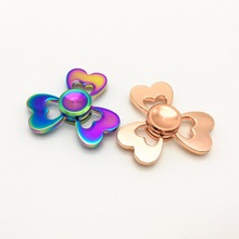 26 Style Hot Fidget Spinner Metal Hand Spinner Dazzling Colorful Cool Stress Wheel Cube Toys Figit Spiner Adults children Gifts