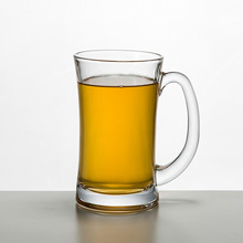 Manufacturers selling lead-free glass handle beer glass cup wholesale sales(China)