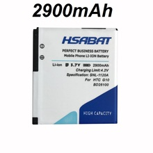 HSABAT 2900mAh BD26100 Battery Use for HTC G10 A9191 Desire HD Surround T8788 T9188 T9199 Tianxi HuaShan myTouch HD