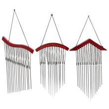 Wood Amazing Deep Resonant Relaxing 15 Tubes Windchime Bells Wind Chimes Hanging Bed Room Home Decor