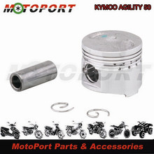 D.39mm For KYMCO AGILITY 50 High Performance Alloy Motorcycle Cylinder Piston Kit