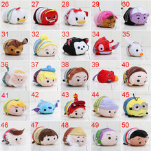 9cm Tsum Tsum Plush toy doll Duck elf doll Screen Cleaner Plush toy juguetes Snow white Mermaid Cinderella Daisy inside out
