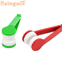 Saingace Glasses Sunglasses Eyeglass Spectacles Cleaner Cleaning Brush Wiper Wipe Kit   IUT6530 DROP SHIP