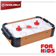 2015 Free Shipping Winmax Toy Mini Air Hockey Game Table With 2 Pushers  And 1 Puck For Children Christmas Present