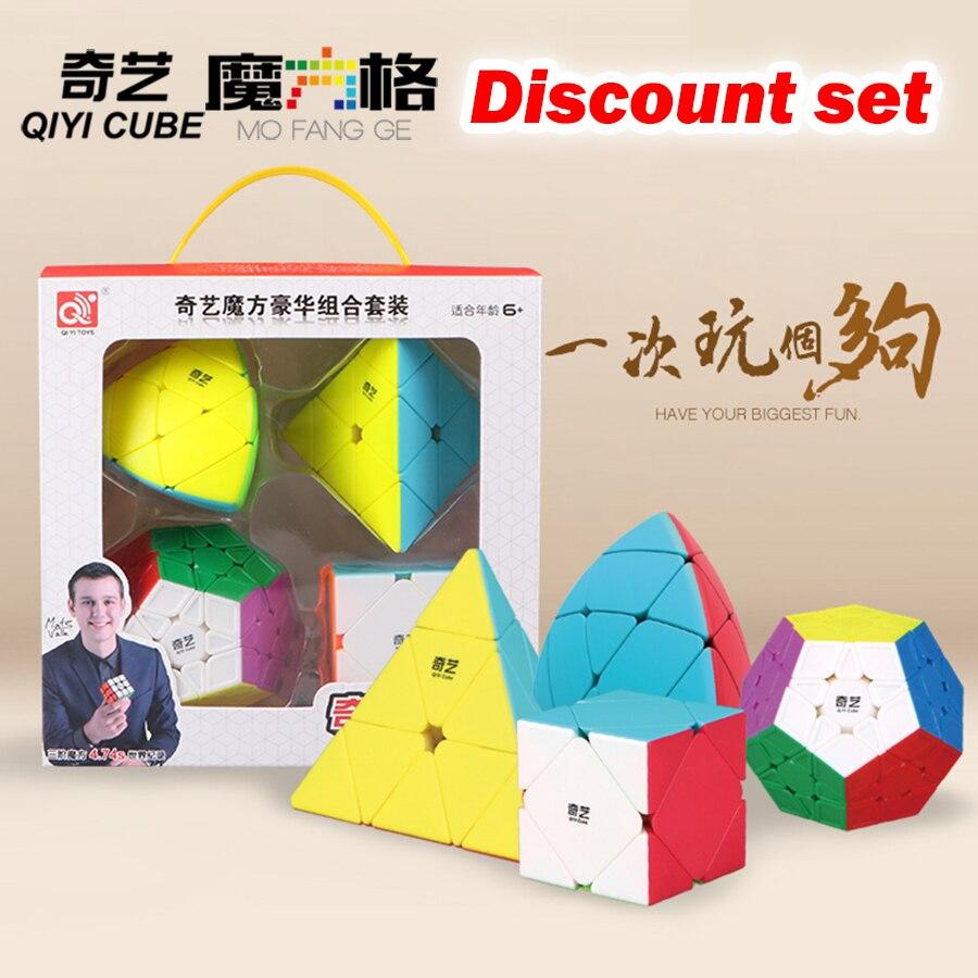 Puzzle Magic Cube sets 2x2x2 3x3 4x4x4 5x5x5 2345layer Pyraminx pyramid Mastermorphix Skewb skew Megaminx  dodecahedron 12axes Z