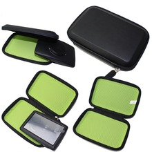 New Portable EVA Hard Carry Case Cover Bag Pouch Navigation Protection Package For 6 inch Navigator GPS Green & Black Wholesale