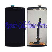 Black Full LCD DIsplay + Touch Screen Digitizer Assembly Replacement For OPPO Find 7 Lite X9006 LTE X9000 Free shipping