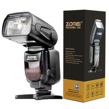 Buy HOT Zomei ZM430 Professional Manual Speedlite Flashlight LCD Display Hard Flash Diffuser Canon Nikon DSLR Camera for $40.49 in AliExpress store