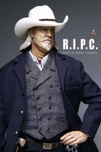 1/6 AF-017 REST IN PEACE  Underworld police station COWBOY  collectible action figure