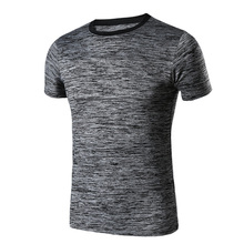 2017 News Sport Loose Running T Shirt Men 4XL Tennis Soccer Jerseys Fitness Blouse Gym Sportswear Sport Suit Short Sleeve Tops(China)