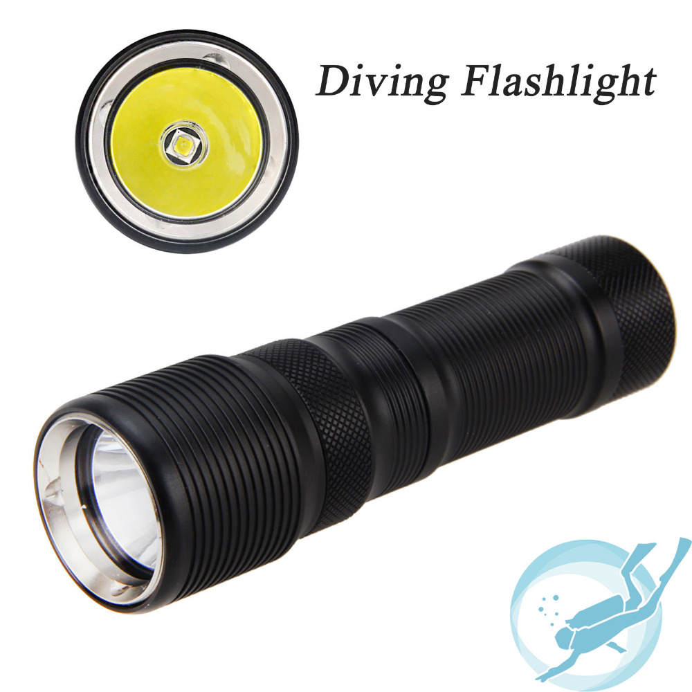 TrustFire TR-DF008 26650 Diving Flashlight CREE XM-L2 3-Mode Magnetic Control Switch LED Flashlight<br><br>Aliexpress