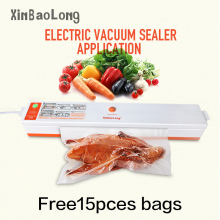 2017 HOT Food Vacuum Sealer Machine Home Food Sealer Saver Kitchen Vacuum Packing Machine Film Contanier