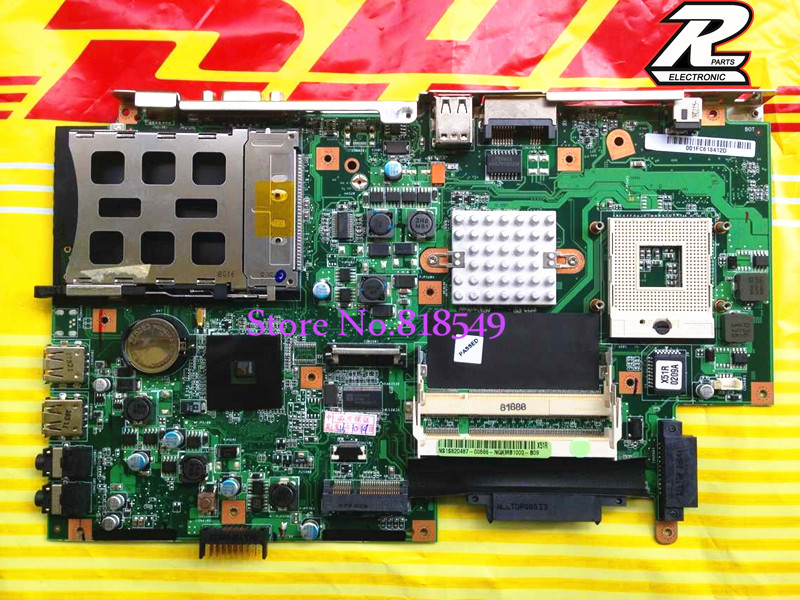 New !! For Asus X51R X51 REV 2.1 System Motherboard 100% Tested OK fast shipping good package<br>