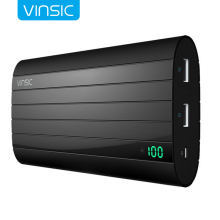 Buy Vinsic Portable Power Bank 20000 mAh Large Capacity Rechargeable Mobile Charger Dual USB Poverbank Portable External Batteries for $34.36 in AliExpress store