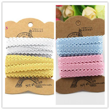 Buy 10mm Mixed 2 Colors Lace Ribbon Handmade Lace Trim Patchwork Material DIY Garment Sewing Accessories 6y/lot,3y/color 040051058 for $1.19 in AliExpress store