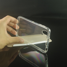 Soft Transparent TPU Gel Cover Case Skin For BlackBerry DTEK50 Neon