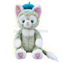 New Duffy Bear Friend Gelatoni Cat Plush Toy Doll 30/23cm Cute Stuffed Animals Kids Toys Dolls for Baby Children Gifts