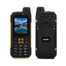 iMAN S2 IP68 Waterproof Dustproof Cheap Mobile Phone 2.0 inch Dual SIM 2200mAh Battery with OTG FM LED Flashlight Function Phone