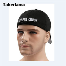 Takerlama SOA Sons of Anarchy for Reaper Crew Fitted Baseball Cap Hat Embroidered Hat Black